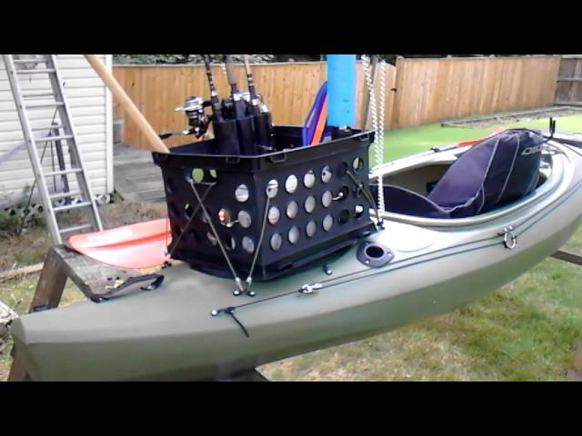 Future beach trophy 126 fishing kayak setup
