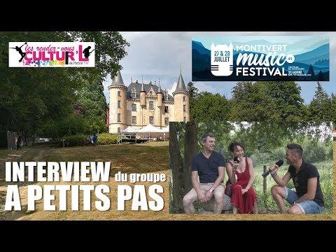 2018 07 27   RDV Cultur'L    avec A petits pas au Montivert Music Festival