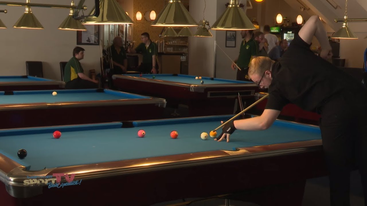 Billard Oldenburg Doppelte Landesmeisterschaften 10 Ball 2018