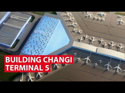 Building Changi Terminal 5: What To Expect | Looking Ahead | CNA Insider