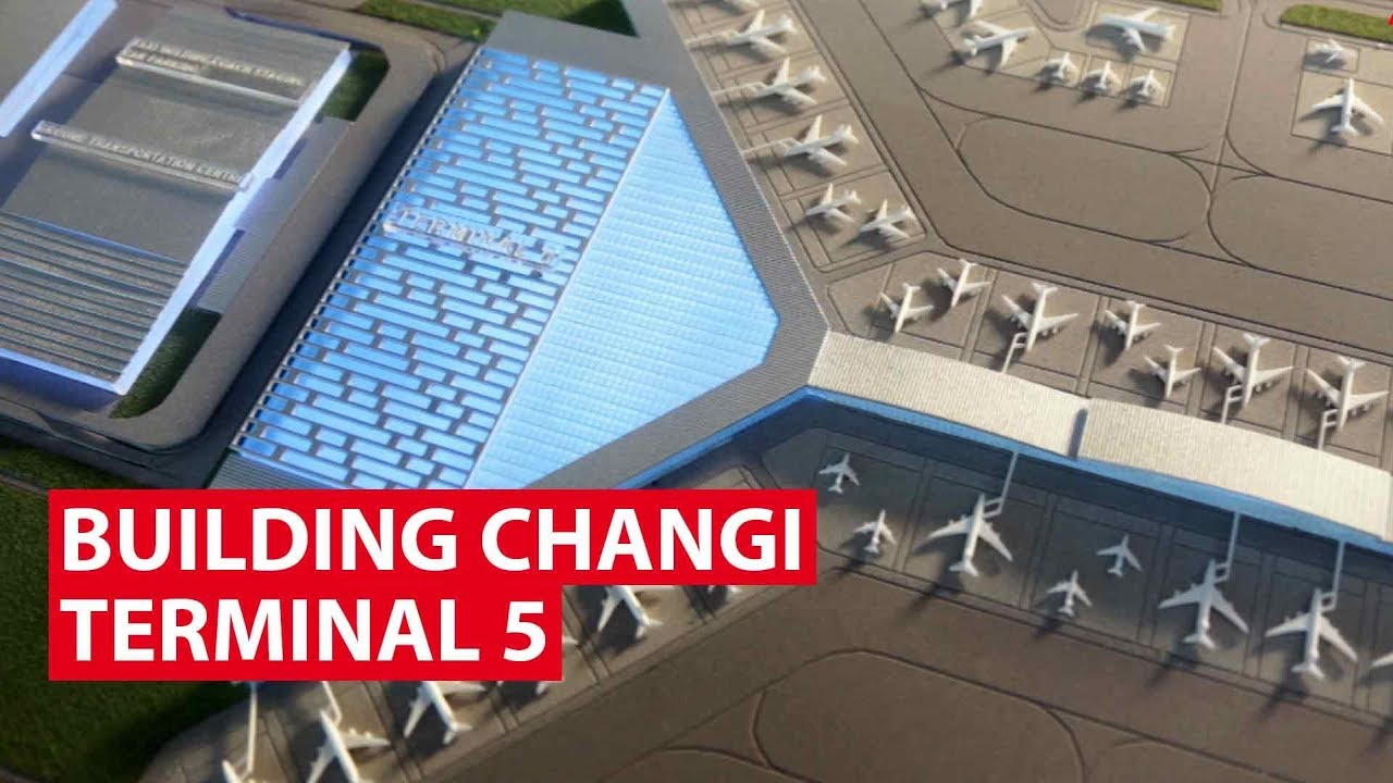 Why Singapore needs Changi Airport Terminal 5, to fly higher