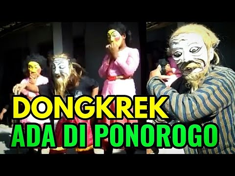 Kesenian DONGKREK Asli Madiun ada di Ponorogo dari Desa Belang,  Bungkal