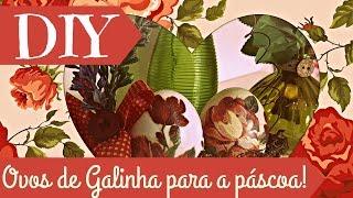 DIY Especial de Páscoa 2: OVOS NA LATA