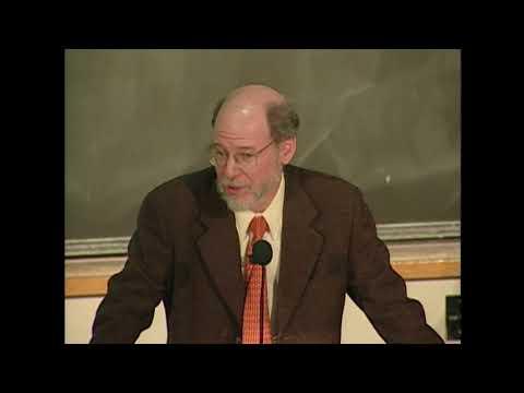 2002 Nobel Laureate Lecture in Physiology of Medicine - H. Robert Horvitz '68