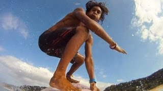 GoPro HD: Surfing Frontside 360 Air with Kaoli