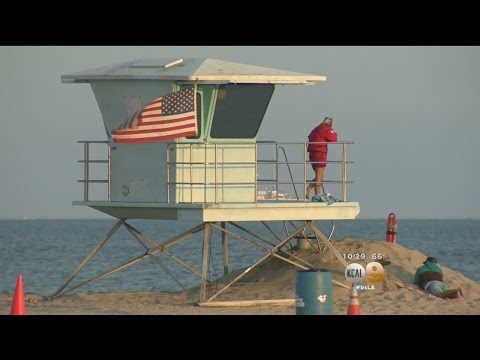 Long Beach Man Visits Lifeguards Who Saved His Life