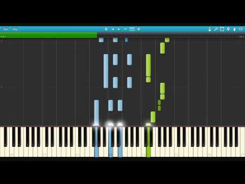 Strike the Blood Ending 2 - Signal - Piano Synthesia *EASY*