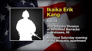 U.S. soldier arrested on terrorism charges