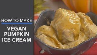 Vegan Pumpkin Ice Cream Recipe