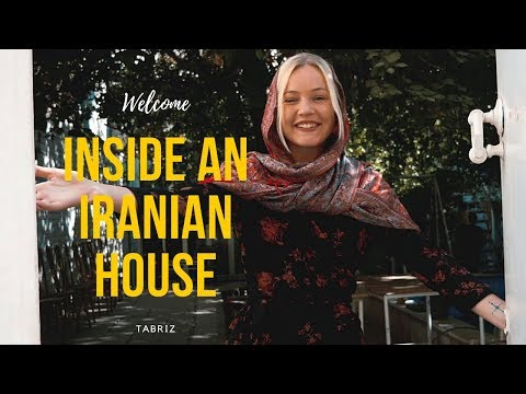 IRANIAN HOUSE TOUR | My hotel in Tabriz #36