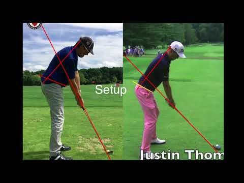Increadibly easy way to hit Great Golf shots. Setup 4 Impact Video.