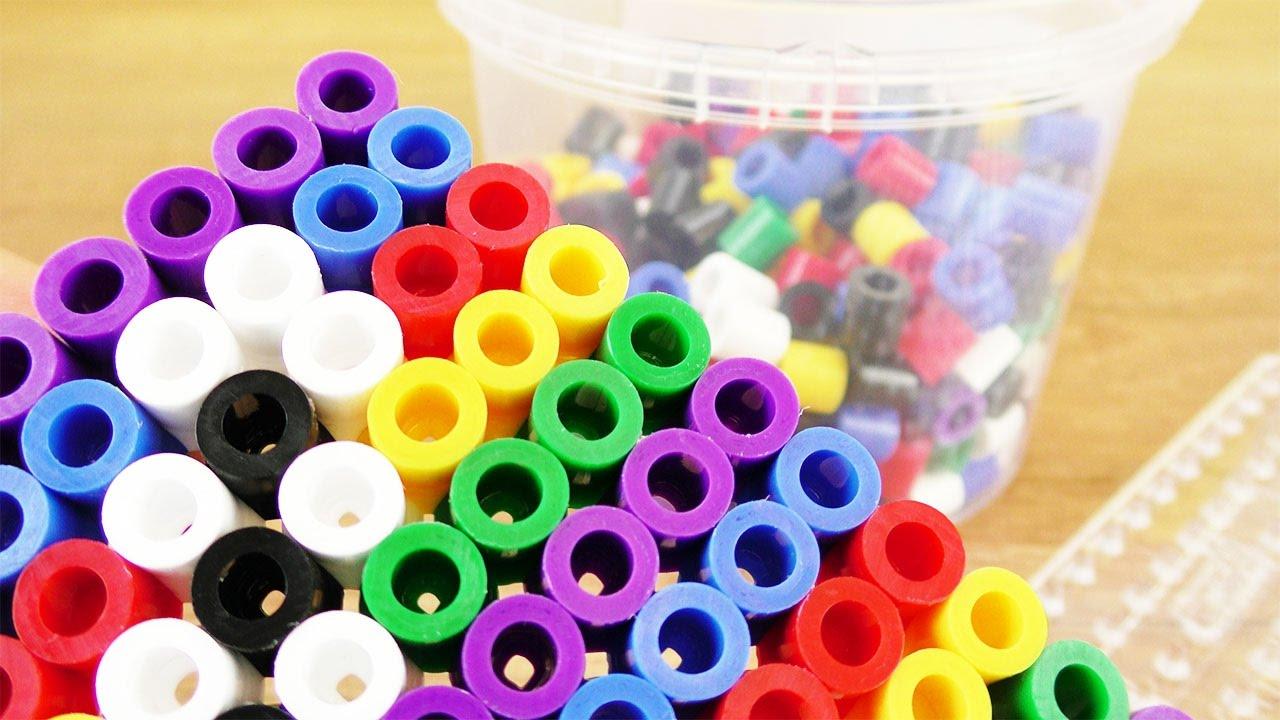 Bügelperlen Ideen Mit Xxl Hama Kathi Steckt Einen Buchstaben Und