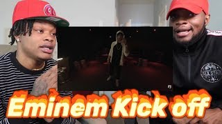 EMINEM - KICK OFF - FREESTYLE (Reaction)