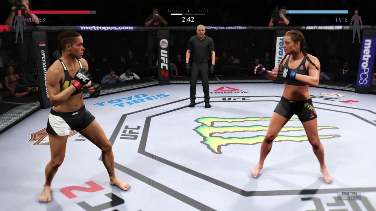 EA Sports UFC 2 - Joanna Jedrzejczyk vs Cláudia Gadelha