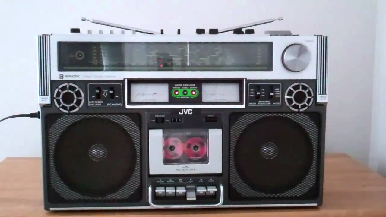 jvc rc 838c biphonic boombox ghettoblaster collection youtube. Black Bedroom Furniture Sets. Home Design Ideas