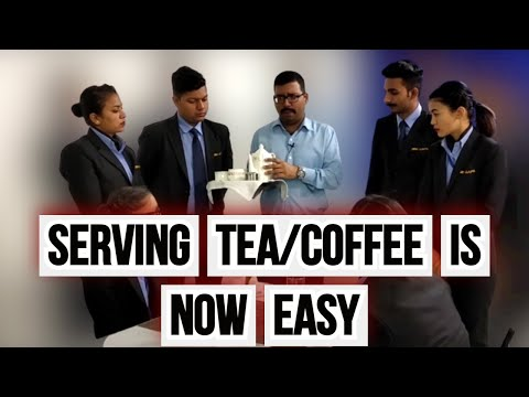 Tea And Coffee Service In Hotel