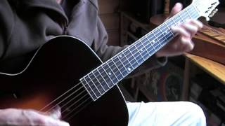 Boogie in C - Acoustic Fingerpicking Blues Guitar