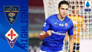 Federico chiesa, rachid ghezzal, patrick cutrone all scored as fiorentina eased to a 3-1 win against struggling lecce | serie timthis is the official chann...