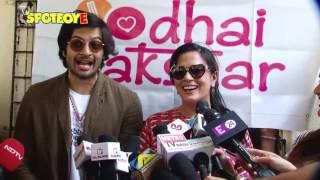 Ali Fazal and Richa Chadda Spend time with NGO Kids   SpotboyE