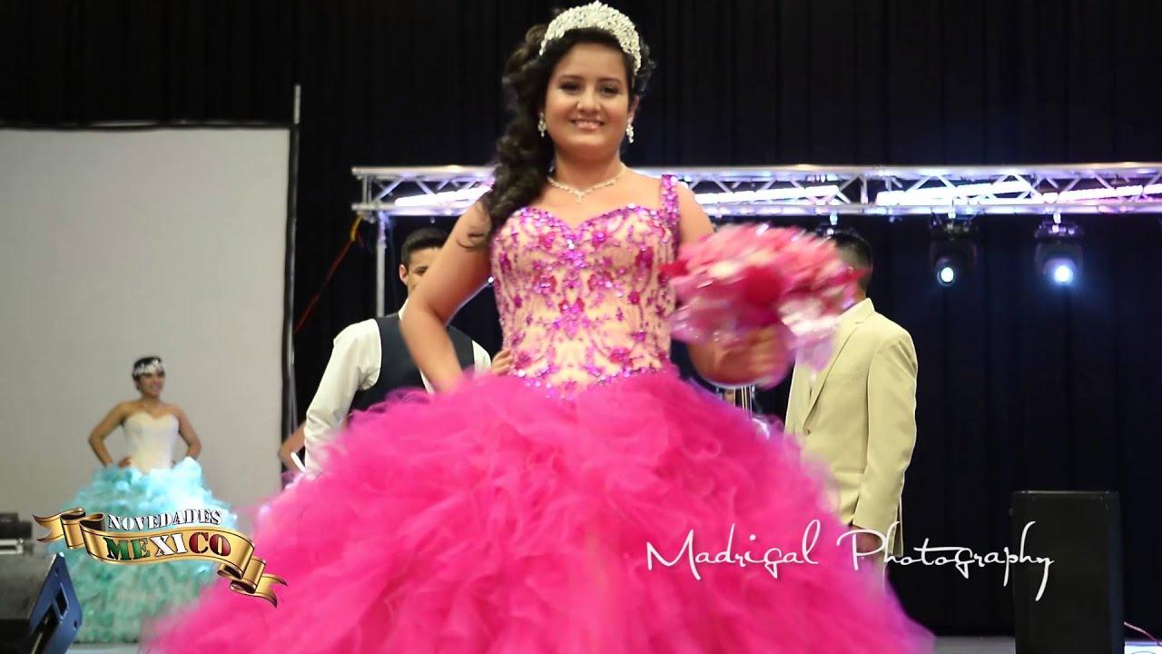 Mis Quince y Novias Expo 2016 Pasarela de vestidos 3 - YouTube