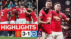 Highlights | United 3-1 Brighton | Premier League