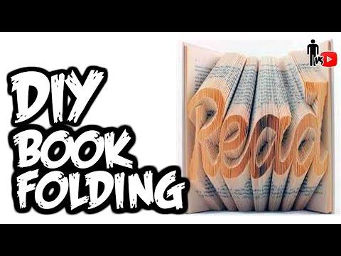 DIY Book Folding - Man Vs. Youtube #7