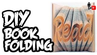 DIY Book Folding - Man Vs. Youtube #7