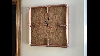 DIY Steampunk Copper Pipe Clock