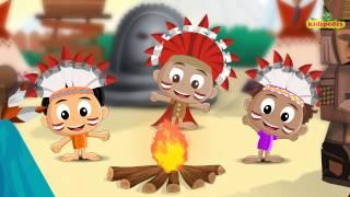 Ten Little Indian Boys I Popular Nursery Rhymes Song I Children Song