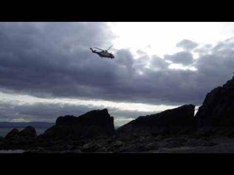 Irish Coast Guard in Howth