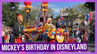 Mickey's 90th Birthday Celebration in Disneyland - 2018