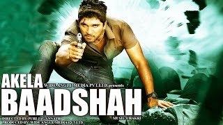 Akeyla Badshah (Ek Jwalamukhi) - Allu Arjun, Hansika Motwani | Hindi 2015 Dubbed Full Movie HD