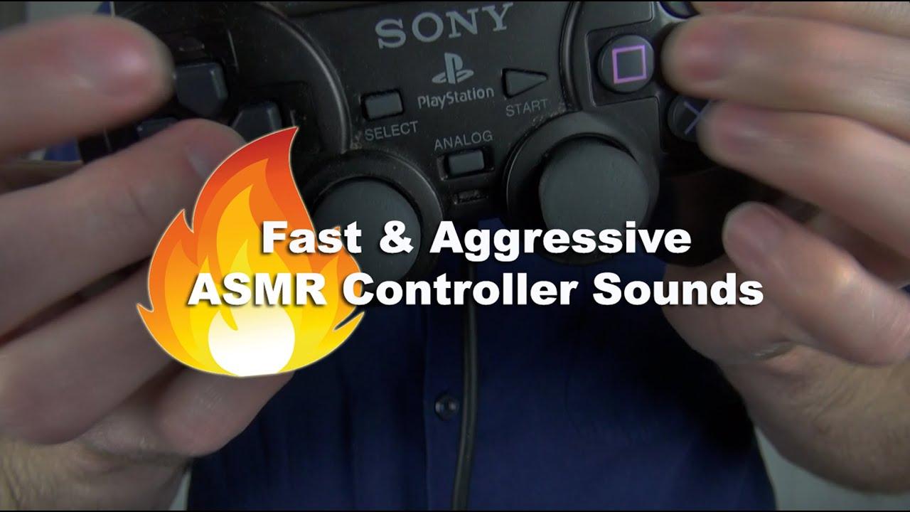 Fast Controller Sounds ASMR Aggressive