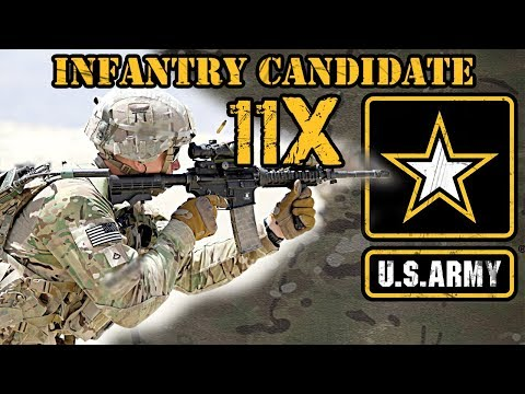 11X Infantry Candidate