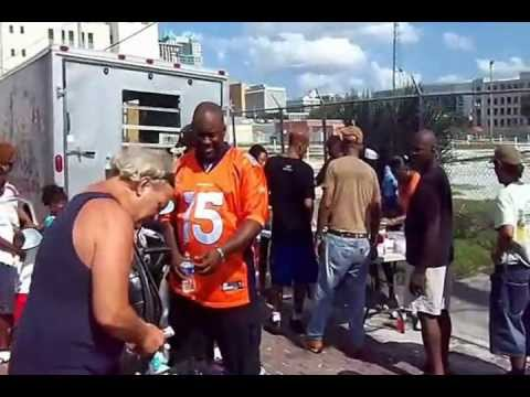 The Practice What You Preach Ministries Homeless Feeding of Orlando Florida