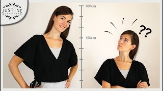 How to look taller (playing with proportions): 3 smart outfits ǀ Justine Leconte