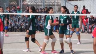 Nepal Police vs New diamond   Ladies Volley ball   apf halchwock