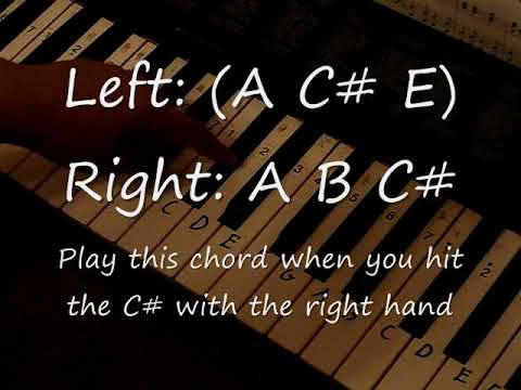 The Final Countdown Piano Tutorial With Chords Both Hands Youtube