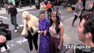 Kim & Kourtney Kardashian Walking Through the Streets of NYC (ThrowBack)
