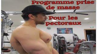 MUSCULATION : prise de masse pour les pectoraux by maitrekal