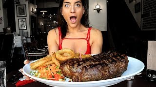 6lb [96oz] Steak Challenge || Shuts Vs Randy Santel || Cattlemens Grill Harrogate