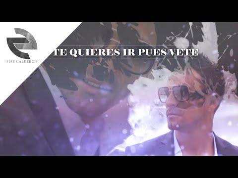Así es mejor Remix - Pipe Calderón ft Kevin Roldan [Video Lyric] ®
