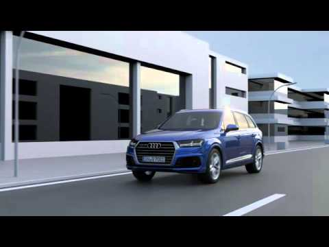 Audi Q7 3.0 TDI quattro – All-wheel steering