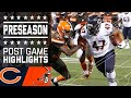 Bears vs. Browns | Post Game Highlights | NFL