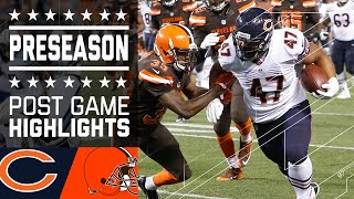 Bears vs. Browns | Game Highlights | NFL