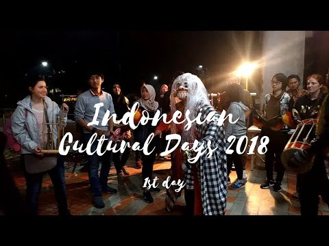 F-VLOG: Indonesian Cultural Days 2018 (1st day)