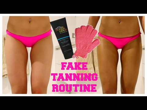 FAKE TANNING ROUTINE! Making it LAST tips | Chloe Szep