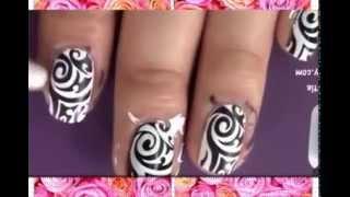 Японский маникюр ногтей в домашних условиях! online video cutter com