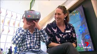 Virtual reality being used on children in hospitals Yahoo7 News1
