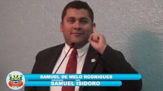 Samuel Isidoro Pronunciamento 09 12 16